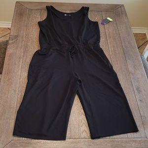 Cropped jumpsuit